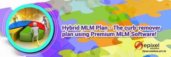 Plano mlm híbrido - uma mistura de muitos planos mlm!