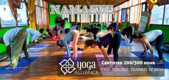 Yoga teacher training courses in india | yoga school in rishikesh