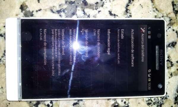 Sony xperia s lt26i 32gb camara 12mp