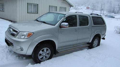 Toyota hilux 2.5 d-4d 4x4 pick up 144 cv double cabine