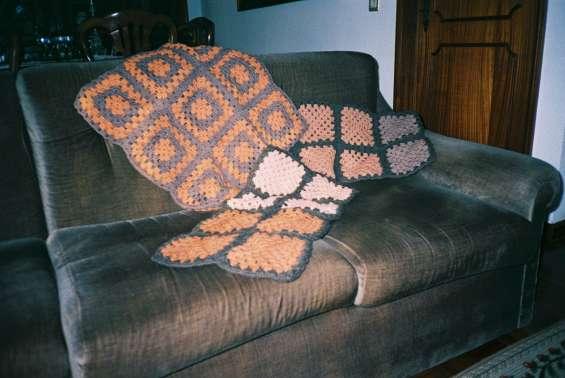 Almofadas decorativas em crochet
