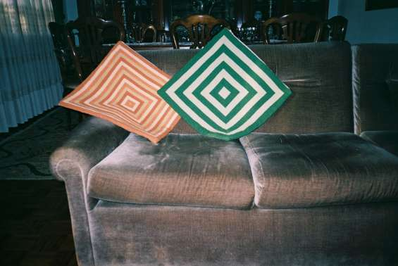 Almofadas decorativas em arraiolos