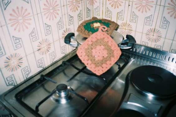 Pegas  de  cozinha em crochet(peça feita à mão)